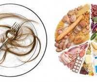 Los alimentos y el cabello