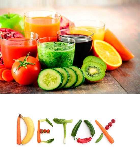 dieta para desintoxicar